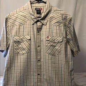 Authentic Tony Hawk SS Snap Button Sz. XL.